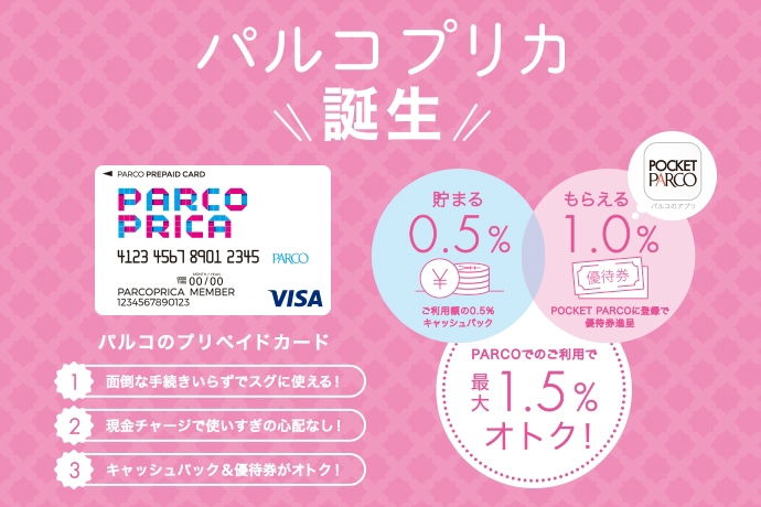 PARCOプリカ